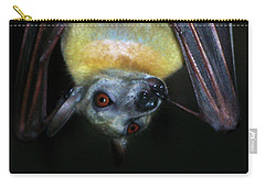 Carry-all Pouch featuring the photograph Fruit Bat by Anthony Jones