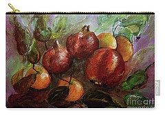 Fruit Dance Carry-all Pouch by Jasna Dragun