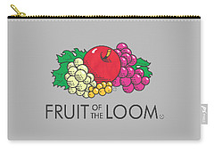 Fruit Of The Loom T-shirt Carry-all Pouch by Herb Strobino