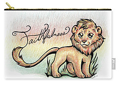 Fruit Of The Spirit Faithfulness Carry-all Pouch