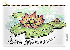 Fruit Of The Spirit Series 2 Gentleness Carry-all Pouch
