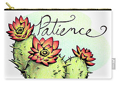 Fruit Of The Spirit Series 2 Patience Carry-all Pouch