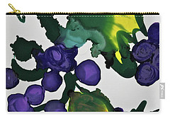 Carry-all Pouch featuring the painting Fruit Of The Vine by Michele Myers