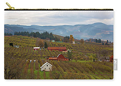 Fruit Orchard Farmland In Hood River Oregon Carry-all Pouch