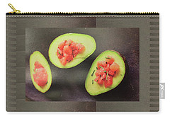 Carry-all Pouch featuring the photograph Fruit Salad Chef Cuisine Kitchen Christmas Holidays Festivals Birthday Dad Mom  by Navin Joshi
