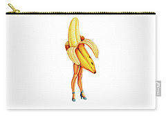 Fruit Stand - Banana Carry-all Pouch by Kelly Gilleran