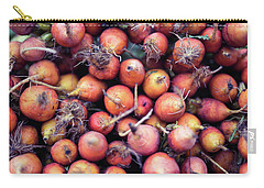 Fruits And Vegetable At Farmer Market Carry-all Pouch by Jingjits Photography