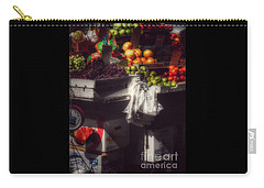 Carry-all Pouch featuring the photograph Fruits Of Autumn - New York by Miriam Danar