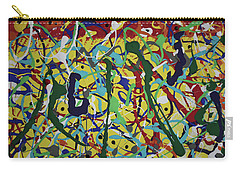 Carry-all Pouch featuring the painting Fun Time by Pam Roth O'Mara