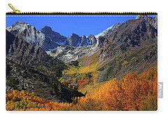 Full Autumn Display At Mcgee Creek Canyon In The Eastern Sierras Carry-all Pouch