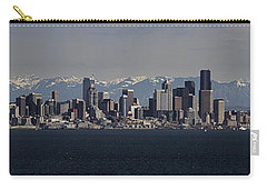 Full Frontal Seattle Carry-all Pouch by James Heckt