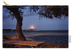 Full Moon At Inlet Watch Carry-all Pouch