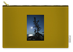 Full Moon At Schoodic Point Maine Carry-all Pouch