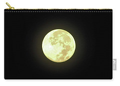 Full Moon August 2014 Carry-all Pouch by D Hackett