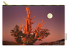 Full Moon Behind Ancient Bristlecone Pine White Mountains California Carry-all Pouch
