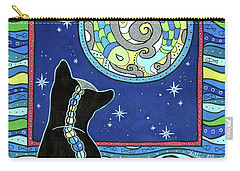 Pisces Cat Zodiac - Full Moon Carry-all Pouch