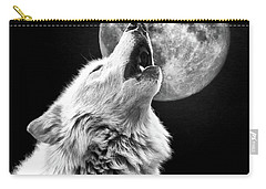 Full Moon Howl Carry-all Pouch by Steve McKinzie