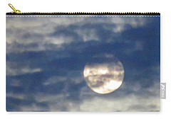 Full Moon In Gemini With Clouds Carry-all Pouch