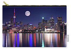 Full Moon In Toronto Carry-all Pouch