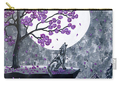 Full Moon Magic Carry-all Pouch by Teresa Wing