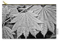 Full Moon Maple Leaf After A Spring Rain Carry-all Pouch
