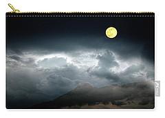 Full Moon Over Borrego Carry-all Pouch by Hugh Smith