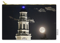Full Moon Over Miller Library Carry-all Pouch