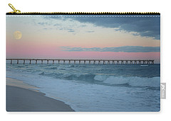 Full Moon Over The Pier Carry-all Pouch