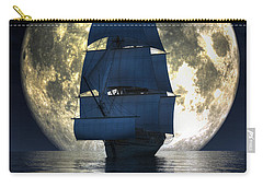 Full Moon Pirates Carry-all Pouch by Daniel Eskridge