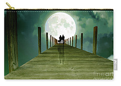 Full Moon Silhouette Carry-all Pouch