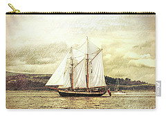 Full Sail Carry-all Pouch by Lynn Bolt
