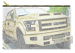 Carry-all Pouch featuring the photograph Full Sized Toy Truck by John Schneider