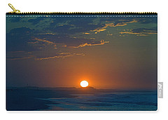 Carry-all Pouch featuring the photograph Full Sun Up by  Newwwman