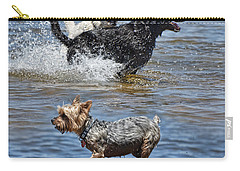 Fun At The Lake Carry-all Pouch by Jim Fitzpatrick