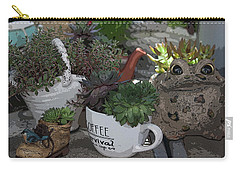 Fun Pots IIi Carry-all Pouch by Suzanne Gaff