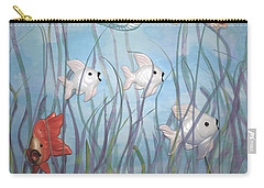 Fun With Chalkware Fish  Carry-all Pouch