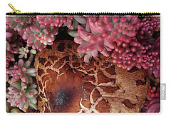 Fungus And Succulents Carry-all Pouch
