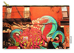 Funky Brooklyn Fire Escape  Carry-all Pouch