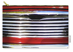 Funky Mini Morris Cooper Carry-all Pouch by Rebecca Harman