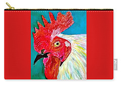Funky Rooster Carry-all Pouch