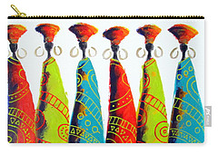 Funky Zulus Carry-all Pouch