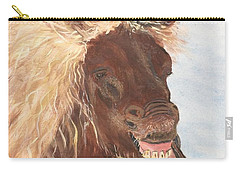 Funny Iceland Horse Carry-all Pouch