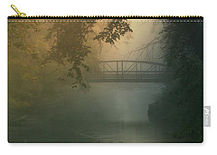 Furnace Run - Square Carry-all Pouch by Rob Blair