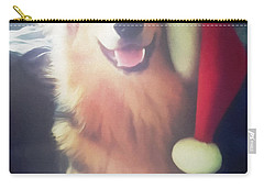 Furry Christmas Elf Carry-all Pouch