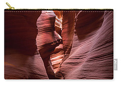 Carry-all Pouch featuring the photograph Further In The Canyon by Jon Glaser