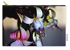 Fuschia Dancing Lady Carry-all Pouch by Joseph Frank Baraba