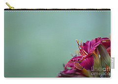 Fuchsia In Bloom Carry-all Pouch by Andrea Silies