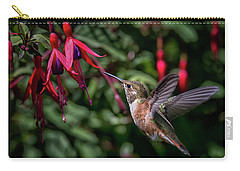 Fuschia Carry-all Pouch by Randy Hall