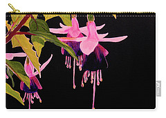 Fuschia Carry-all Pouch
