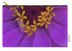 Fuschia Zinnia Carry-all Pouch
